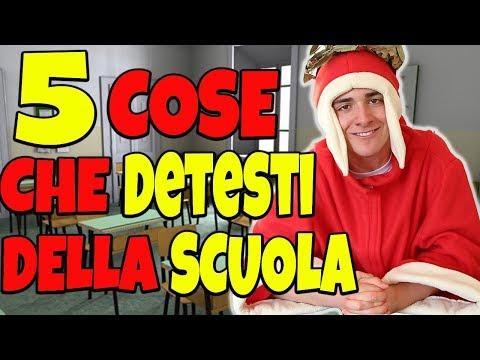 5 COSE CHE ANCHE TU DETESTI DELLA SCUOLA!