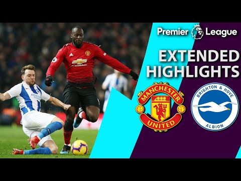 Video: Manchester United v. Brighton | PREMIER LEAGUE EXTENDED HIGHLIGHTS | 1/19/19 | NBC Sports