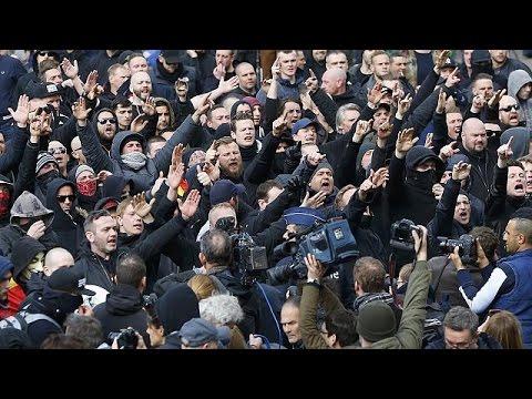Βρυξέλλες: Ταραχές στην πλατεία Μπουρς
