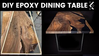 Video DIY Epoxy Dining Table—How to Woodworking—Part One of Two MP3, 3GP, MP4, WEBM, AVI, FLV Agustus 2019