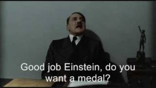 hitler is told that justin bieber is gay
