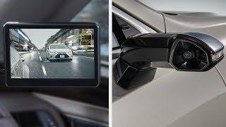 Камеры вместо зеркал на легковых и грузовых автомобилях