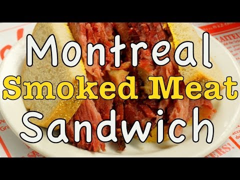 VIDEO: Montreal Smoked Meat Sandwich