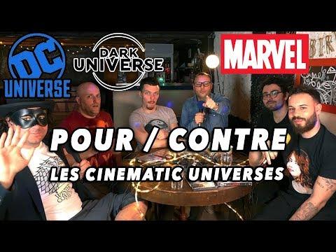 """Pour & Contre les """"Cinematic Universes"""" Débat CCU"""