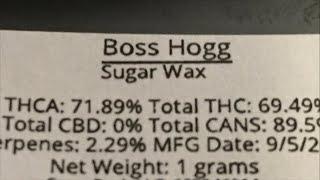 Boss Hog Dabs by Phat Robs Oils
