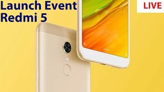 Redmi 5 plus launch event live from china    Redmi 5 launch event