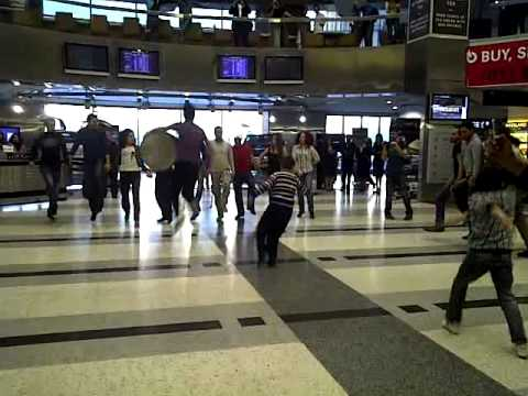 Rafic Hariri Airport Becomes Alive with Dance!