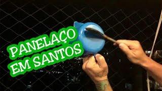 Durante o pronunciamento do ex-presidente Lula na TV, vários moradores da cidade de Santos começaram a bater panela em protesto ao atual governo e a presidenta Dilma.Em 05/05/2015