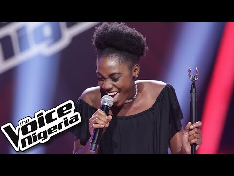 Olanrewaju Omowa sings 'That stupid song' / Blind Auditions / The Voice Nigeria Season 2