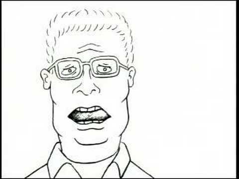 The original pitch for King of the Hill made for a Fox executive