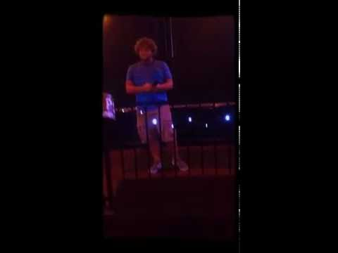Joshua Seals singing