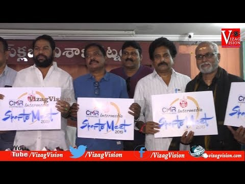 VJF Intermedia Sports Meet & Logo Launch in Visakhapatnam