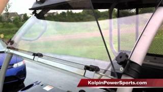 8. Kolpin UTV Windshield Kawasaki Mule 610 - Review