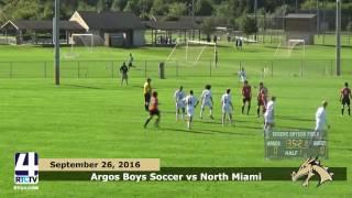 Argos Boys Soccer vs. North Miami