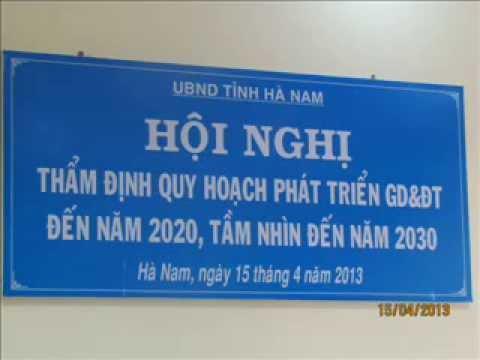 Hội nghị thẩm định quy hoạch phát triển GD&ĐT đến 2030