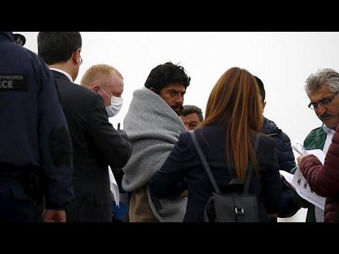 Λέσβος: Αλληλέγγυοι στη θάλασσα κατά της επαναπροώθησης μεταναστών