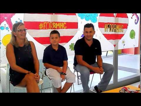La familia Almida Fraile nos cuenta su experiencia en la Casa Ronald de Málaga