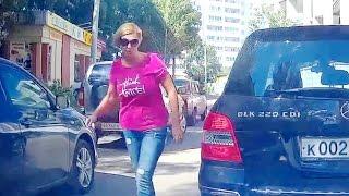 Женщины за рулём, новая подборка