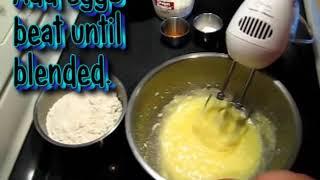 Apple Crumb Coffee Cake Time Lapse Video Tutorial Recipe