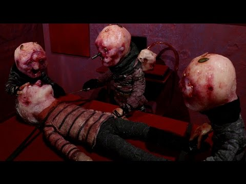 Handmade stopmotion horror from ABCs of Death 2