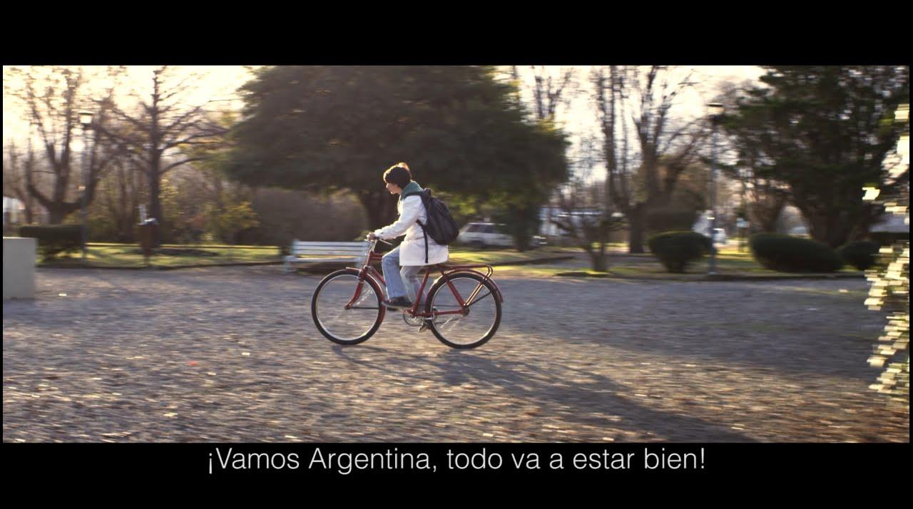 ¡Vamos Argentina, todo va a estar bien!