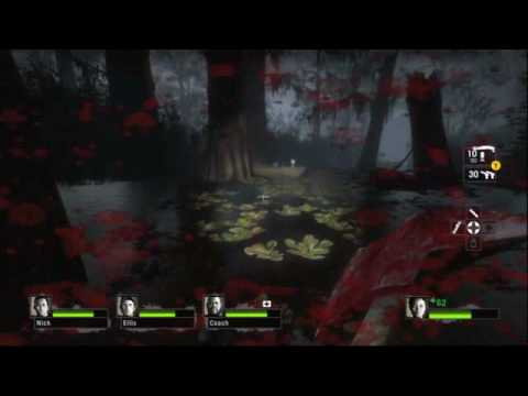 Left 4 Dead 2 - Bayou Cabin Gameplay