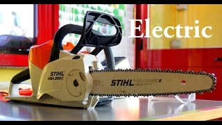 5. STIHL MSA 200C Electric