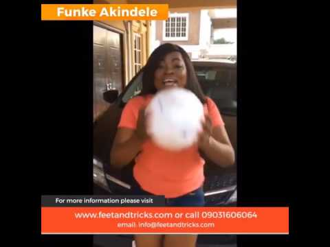 Nollywood Actress Funke Akindele Bello Show Off Baby Bump in new Advert Video