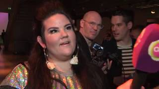 Video EUROVISION 2018: Netta (Israel) Eurovision in Concert interview MP3, 3GP, MP4, WEBM, AVI, FLV Desember 2018
