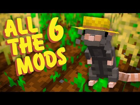 All The Mods 6 Ep. 10 Rats Mod Crop Automation