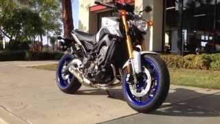 10. 2015 Yamaha FZ-09 Matte Silver