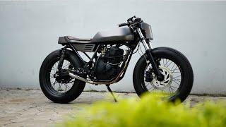 MotoVLog - Yamaha Scorpio Cafe Racer Unibody