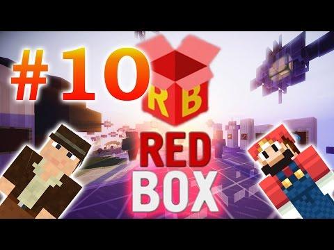 MineCraft сервер [REDBOX] - #10 - [skyblock] фэйл со снеговиком =)