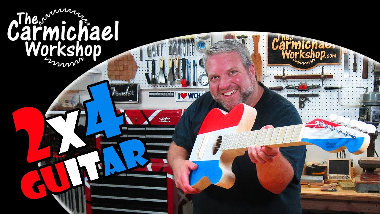Make a 2×4 Acoustic Telecaster Guitar – 2014 2×4 Contest Winner