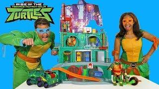 Video Rise of the Teenage Mutant Ninja Turtles Toy Challenge ! || Toy Review || Konas2002 MP3, 3GP, MP4, WEBM, AVI, FLV Oktober 2018