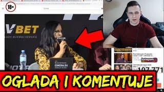 RAFONIX Ogląda i komentuje 2 KONFERENCJĘ FAME MMA 3
