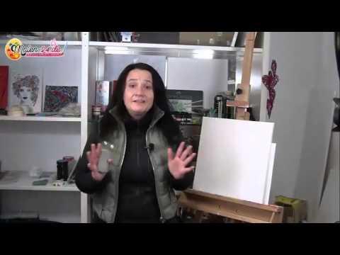 2.Gratis-Videokurs – Die Leinwand – Acrylmalerei lernen Schritt für Schritt…