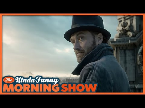 Fantastic Beasts 2 Trailer Reacts - The Kinda Funny Morning Show 03.13.18