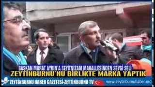 Başkan Murat Aydın'a Seyitnizam Mahallesinden Sevgi Seli