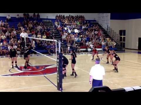 Warriors volleyball highlights