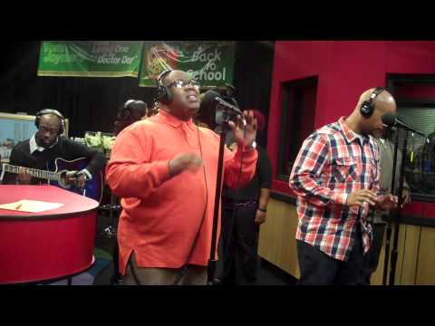 "James Fortune And Fiyah Stop By The Red Velvet Cake Studio To Perform The New Single, ""i Believe""."