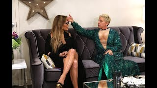 Video Ellen Helps Prep Jennifer Lopez for Her Las Vegas Show MP3, 3GP, MP4, WEBM, AVI, FLV Maret 2018
