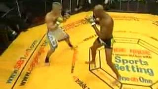 Anderson Silva Reverse Elbow Knockout