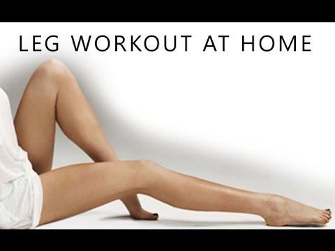 Leg Slimming Workout (At Home Thigh Toning Exercises!!)