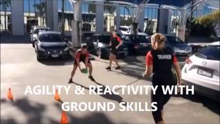 Reactivity & Agility Circuit Training Specific To AFL Football