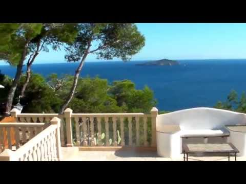 Ibiza villa rental 180°sea view