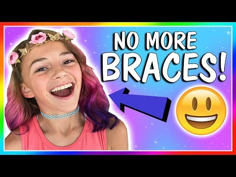 WATCH KAYLA GET HER BRACES OFF!😁| We Are The Davises