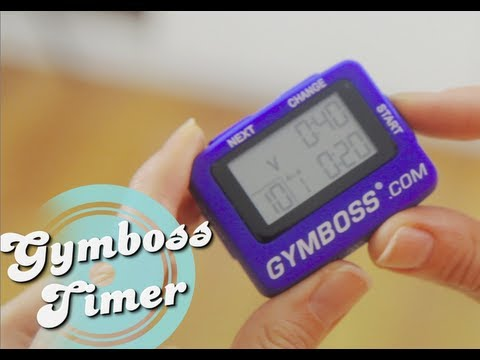 Instructions- How To Use Your Gymboss Interval Timer