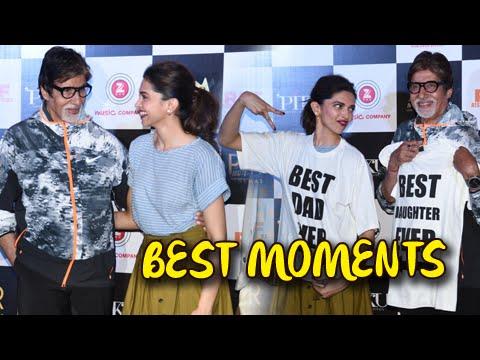 Piku Official Trailer 5 Best MOMENTS of Launch | Deepika Padukone, Amitabh Bachchan, Irrfan Khan