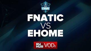EHOME vs Fnatic, game 1